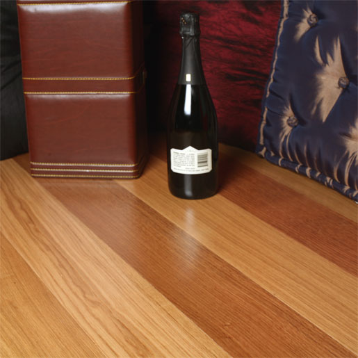The pros and cons of oak flooring prefinished flooring for Prefinished hardwood flooring pros and cons